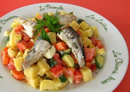 salade sardine