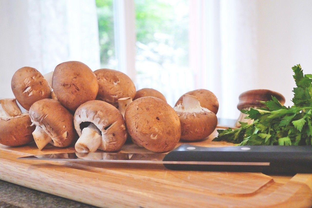 mushrooms, champignons