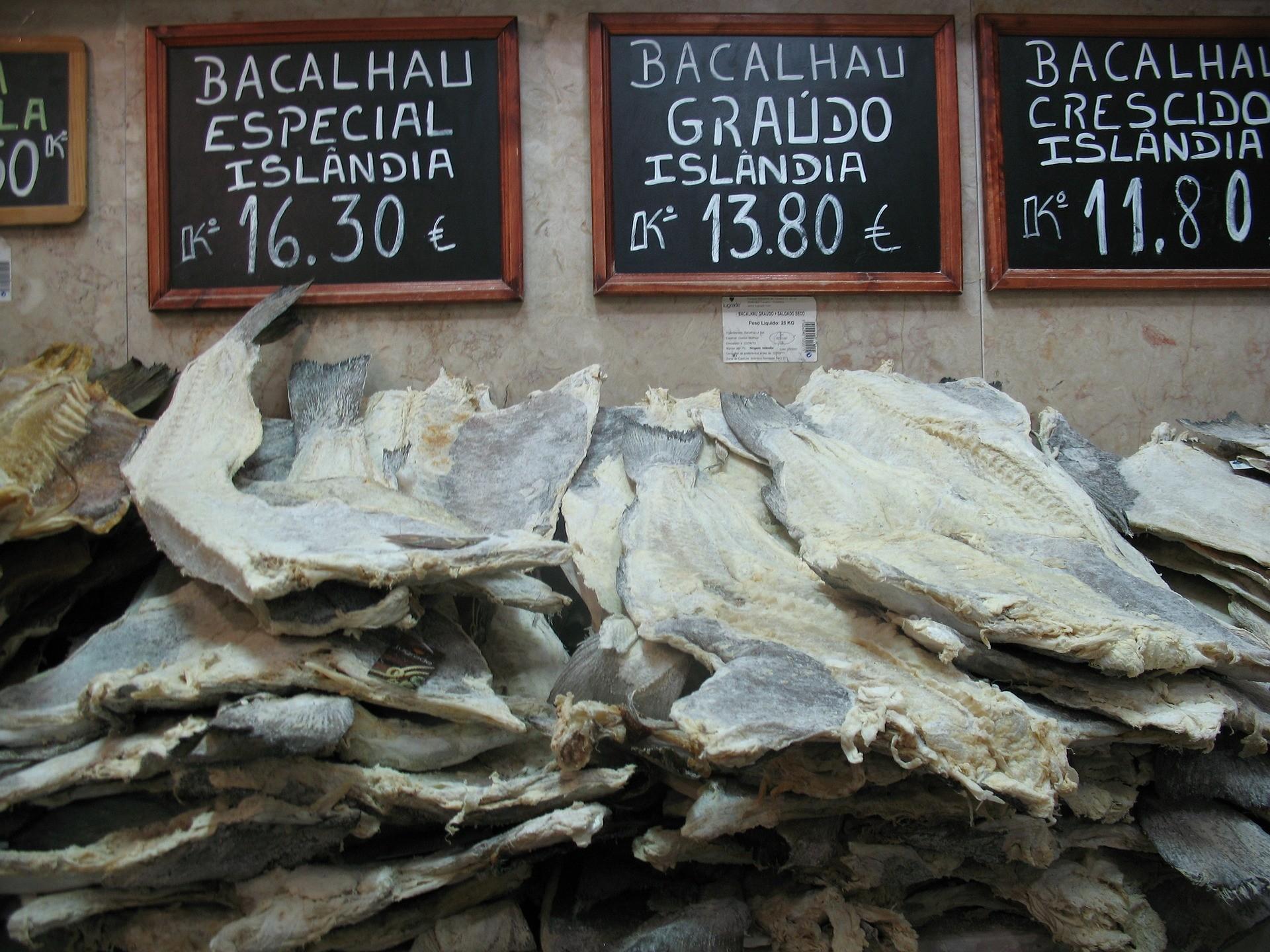 cod, bacalhau, morue