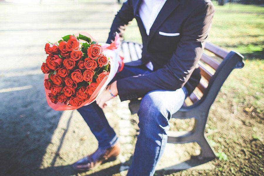 bouquet fleurs saint-valentin romantique