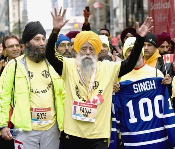 Inspirez-vous d'un marathonien centenaire