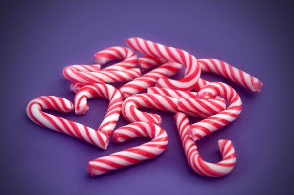 mini candy cane