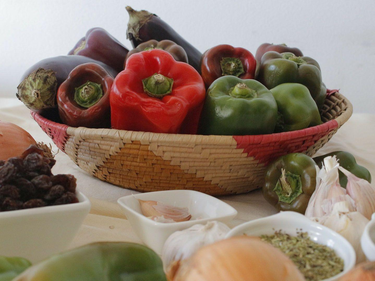 Mediterranean food, nourriture mediterranneene