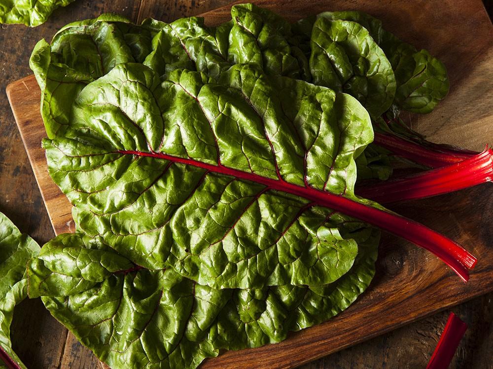 bette a chard bio, Raw Organic Red Swiss Chard