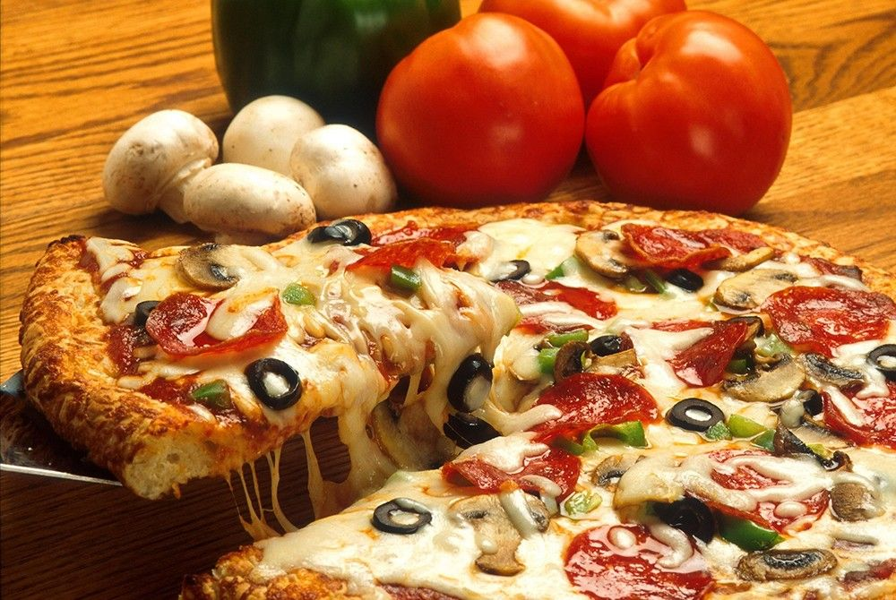 pizza italie légumes restaurant
