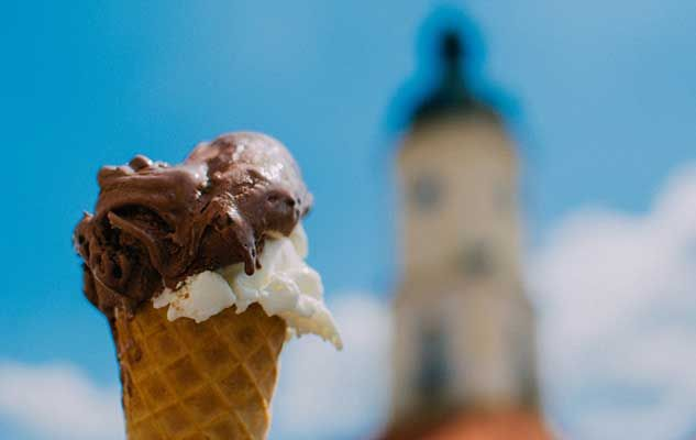 In the world of ice creams and frozen desserts