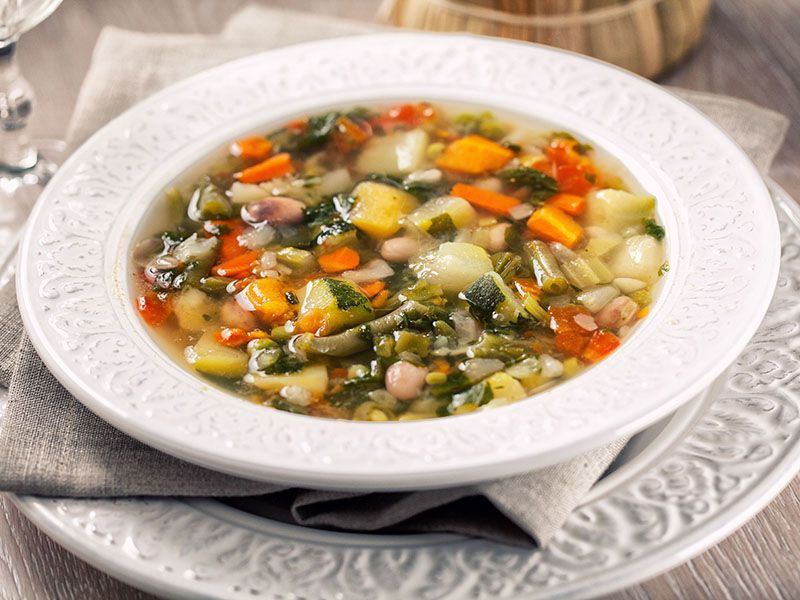 "Real ""minestrone"" soup"