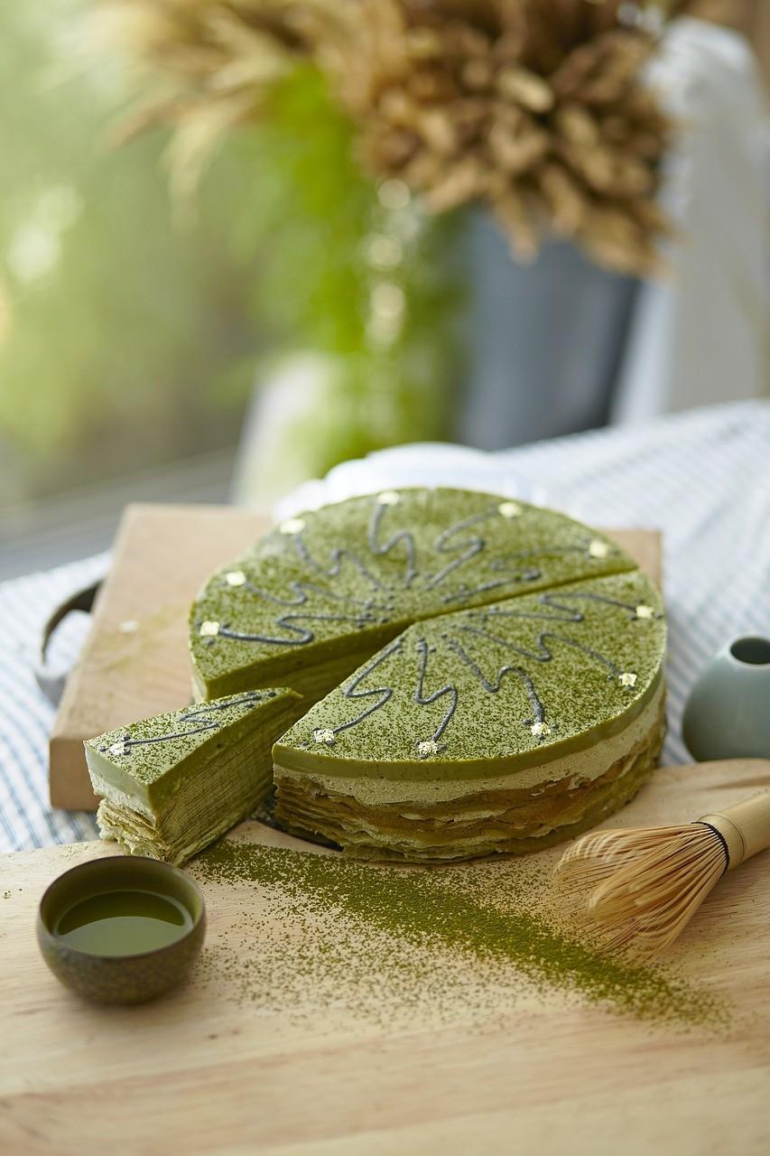 Matcha green tea sweet