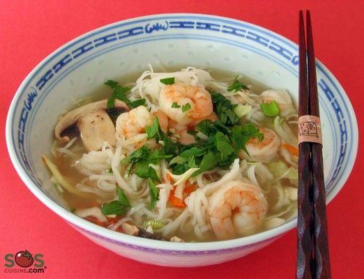 SOSCuisine/Oriental Shrimp Soup