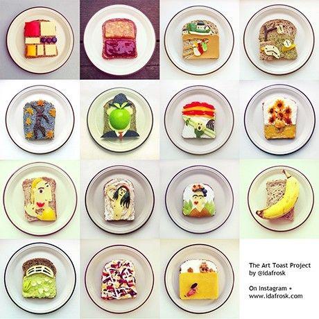 SOSCuisine/Art Toast Project_Ida Frosk