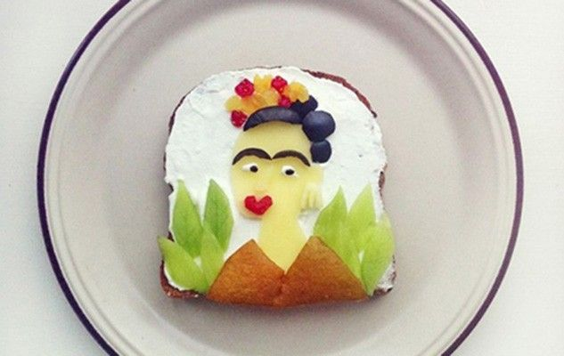Famous paintings on … toasts