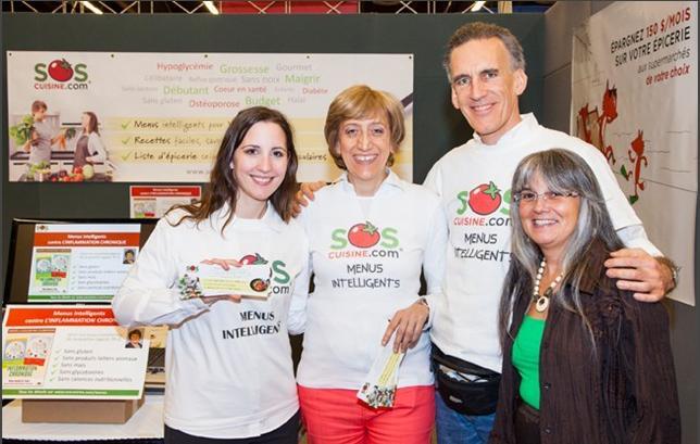 SOSCuisine a l'Expo Manger Santé