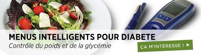 Menus Intelligents pour la diabete