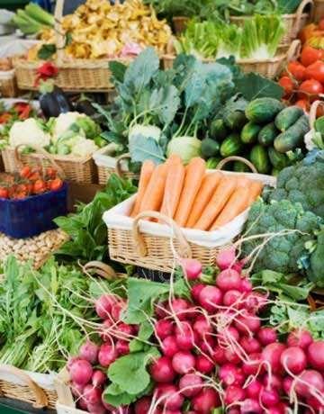 légumes marché fermier