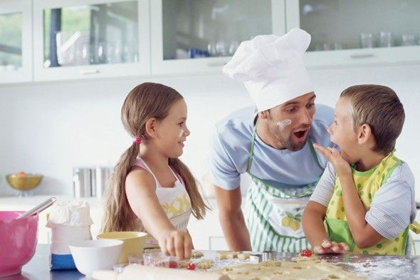 Five benefits of cooking with kids