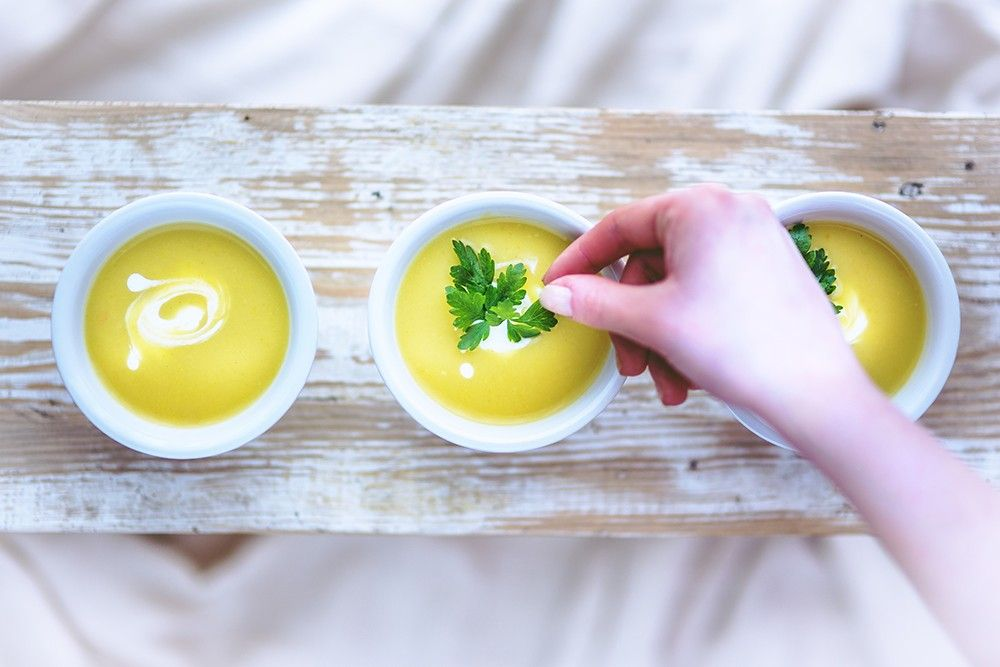 Summer, the season of… cold soups