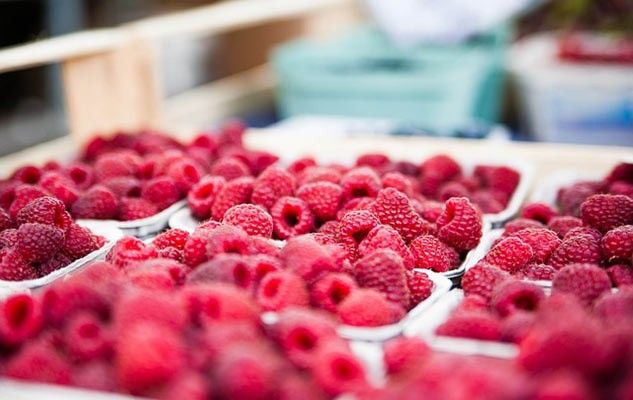 Raspberries, for taste and health
