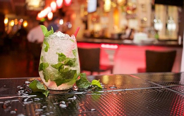 A refreshing mojito in mint condition
