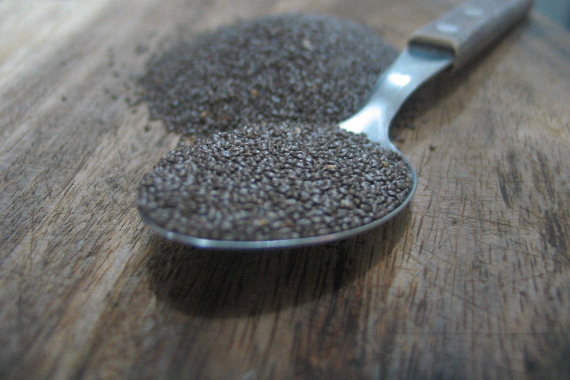 chia seed, grains de chia
