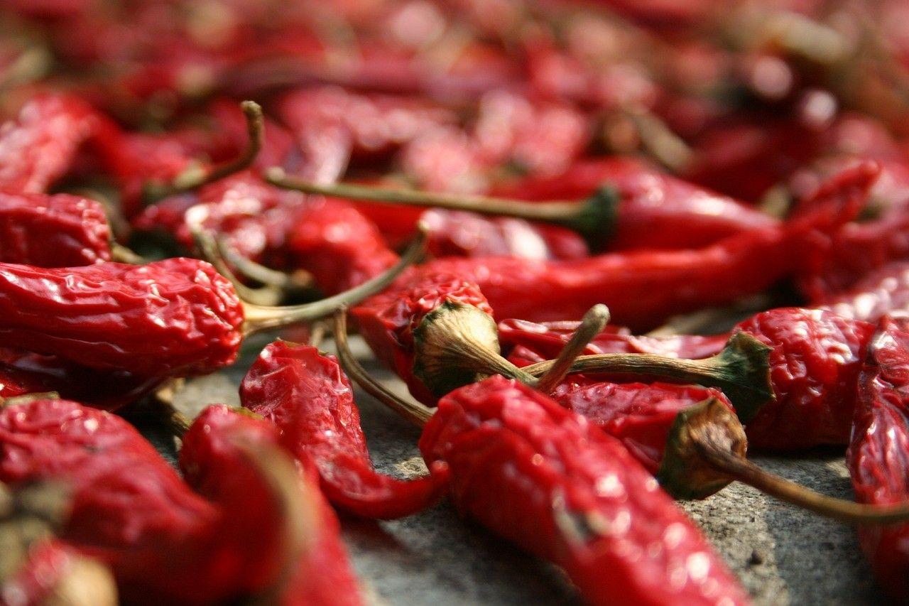 chili poivrons piments