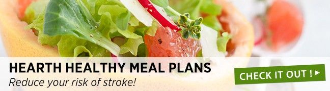 Heart healthy meal plans from SOSCuisine