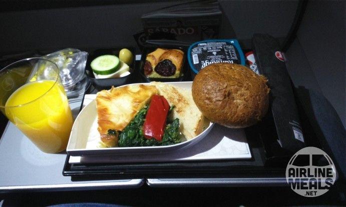 petit déjeuner de Turkish Airlines