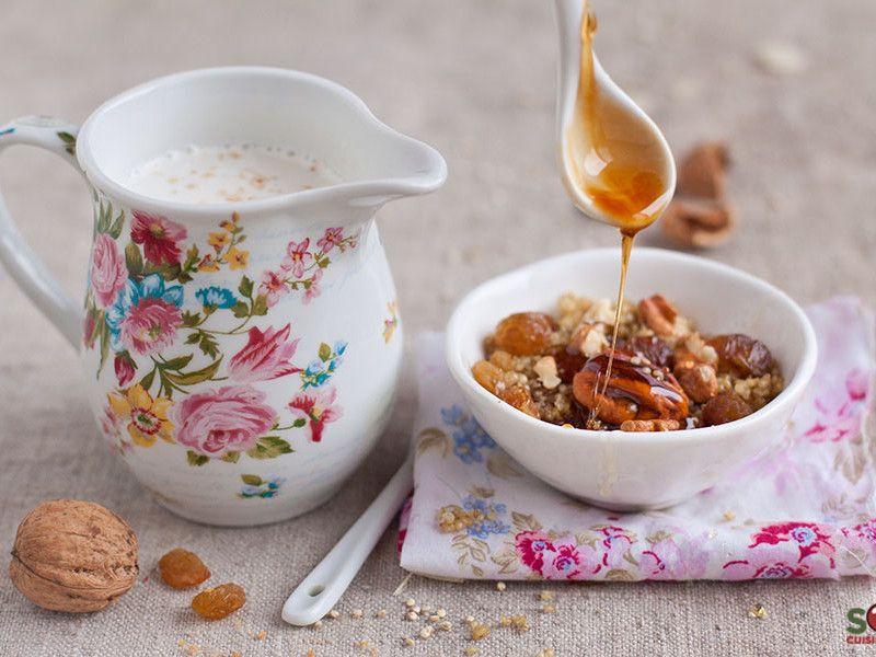 petit déjeuner quinoa breakfast