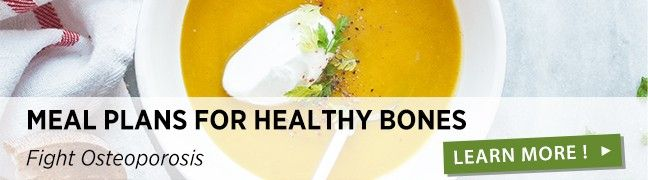 Menus for healthy bones