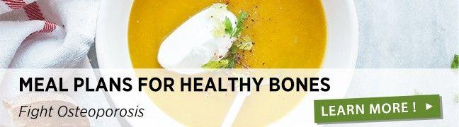 Menus for healthy bones