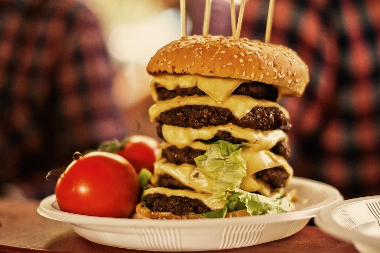 unhealthy food high in FODMAP, alimentation malsain haut en FODMAP