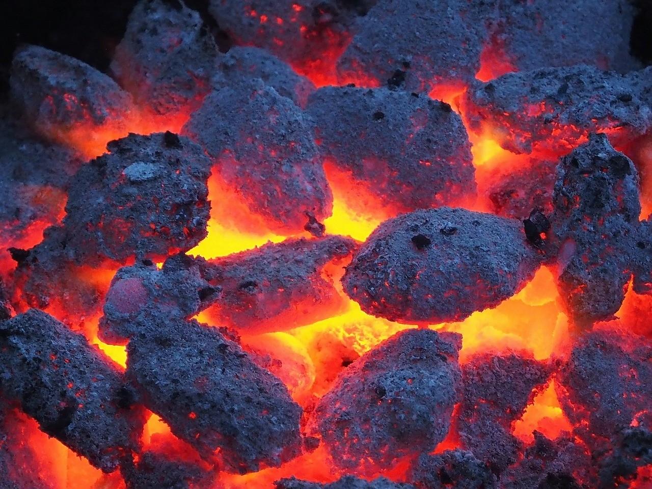 barbecue préchauffé
