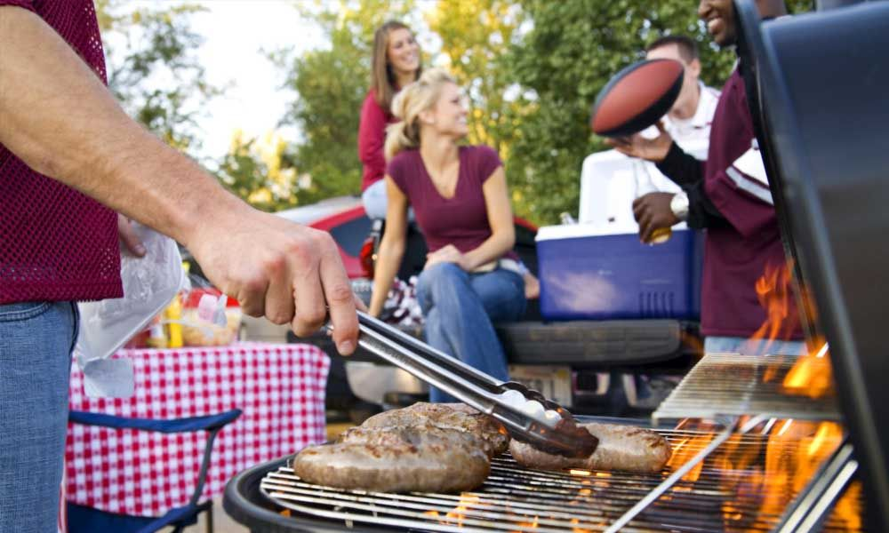 barbecue et grillade, barbecue and grill