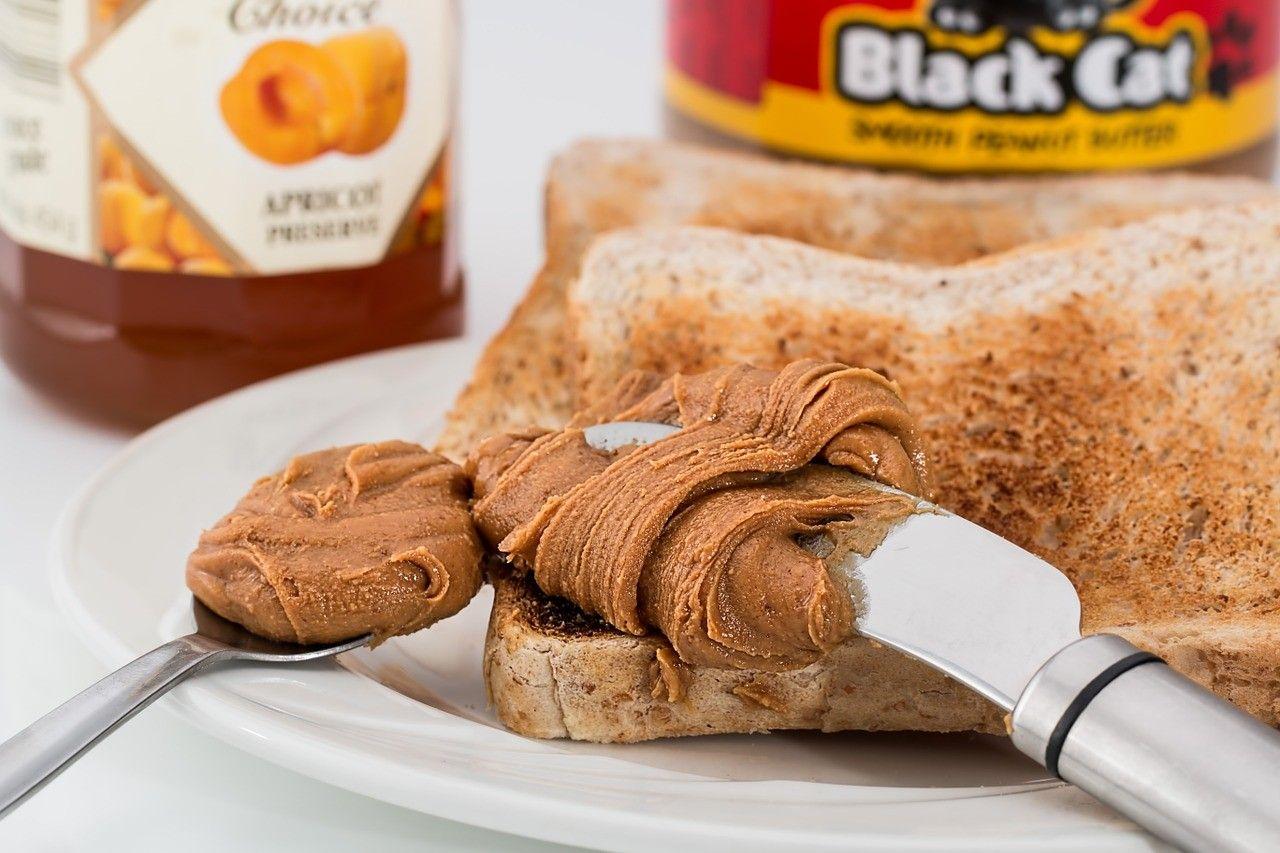 beurre d'arachides petit-déjeuner santé 2