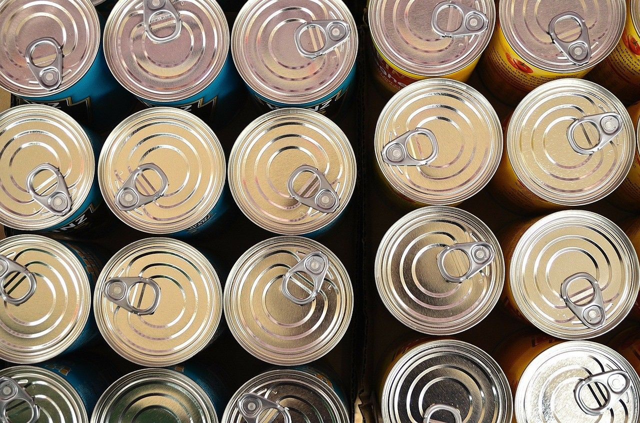 cans, cannettes