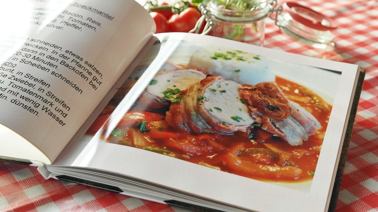 cookbooks, livre de recettes