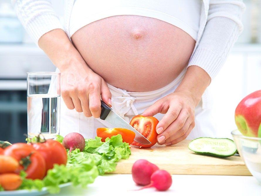 Grossesse : Bien manger pour la future maman