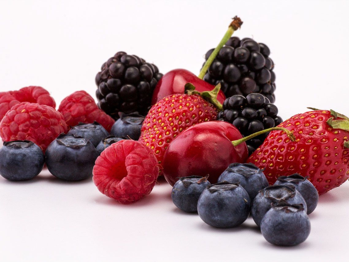 berries, petits fruits