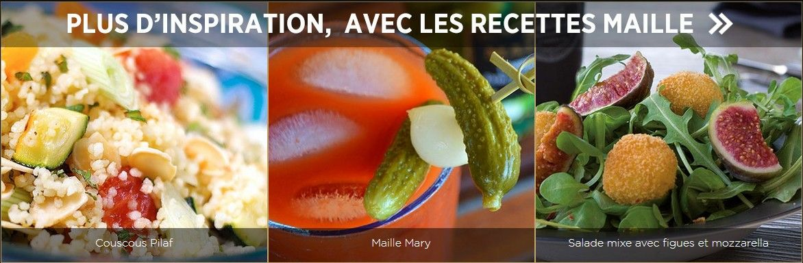 Maille recipes