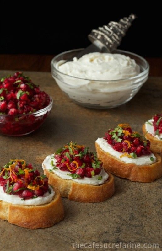 Cranberry-and-Pomegranate-Bruschetta-2