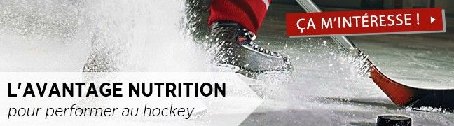L'avantage nutrition pour performer au hockey