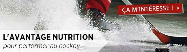 L'avantage nutrition pour performer au hockey
