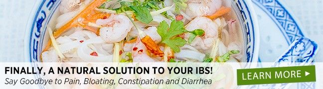 Meal Plans from SOSCuisine for help with IBS