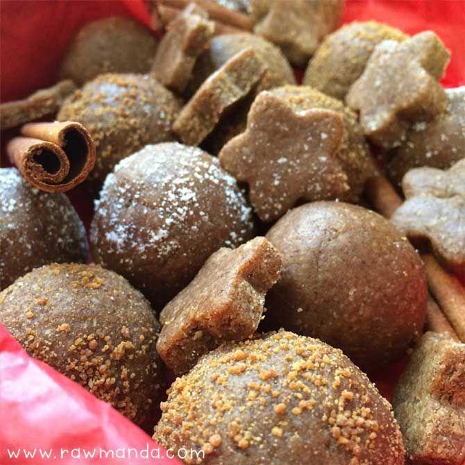 raw-gingerbread-cookie-balls-recipe-glutenfree-lowfat-vegan