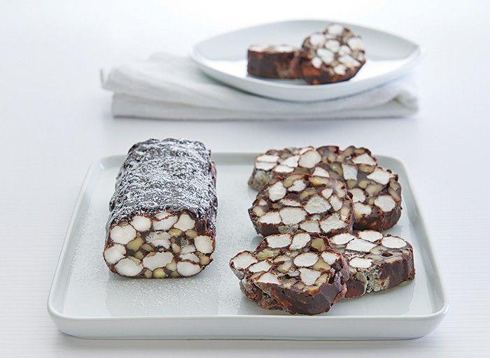 Chocolate Marshmallow Rolls