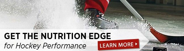 Get the Nutrition Edge in hockey