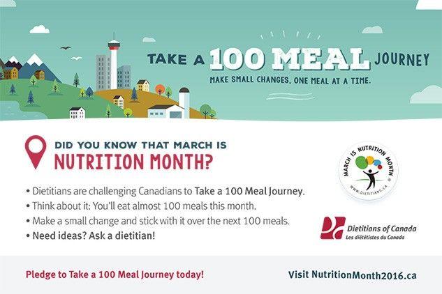 Dietitians.ca Nutrition Month