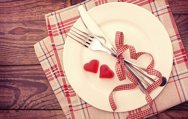 Menu Saint-Valentin « faible en FODMAP »