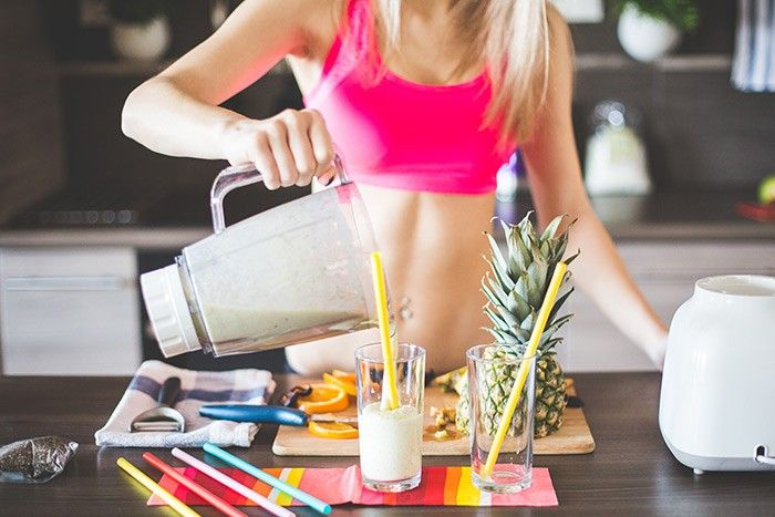 fitness fruits smoothie