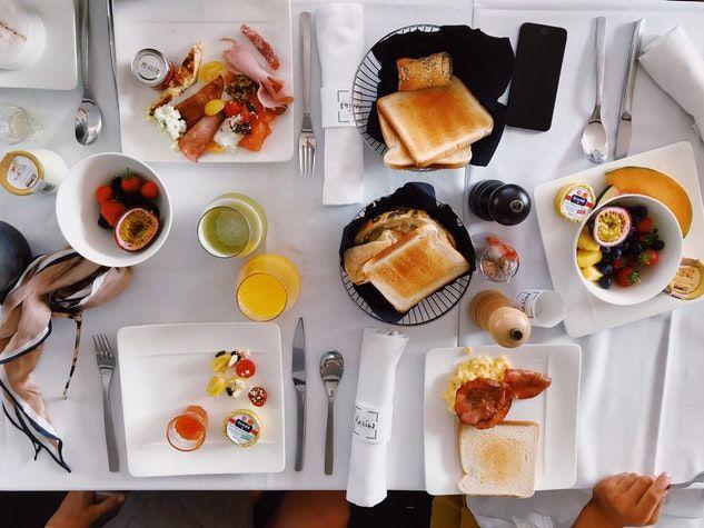 brunch déjeuner breakfast