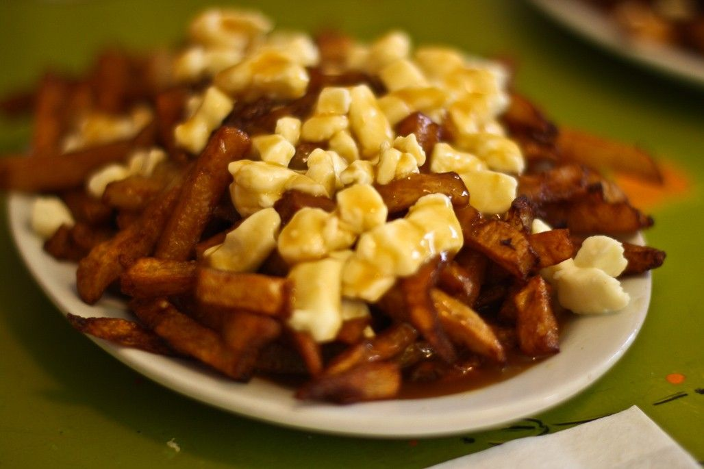 Poutine from La Banquise in Montreal